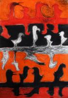 obraz Blendoidi, technika suchý pastel
