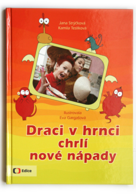 Draci v hrnci chrlí nové nápady, kuchařská kniha podle oblíbeného pořadu Draci v hrnci na Čt :D